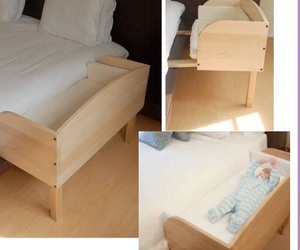 baby, bed, and home image