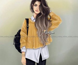 girly_m, drawing, and art image