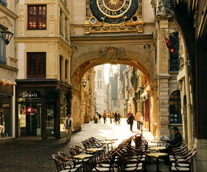 france, clocktower, and rouen image