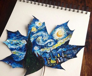 art, draw, and blue image