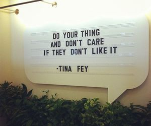 quote and Tina Fey image