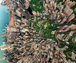 downtown, city, and hongkong image