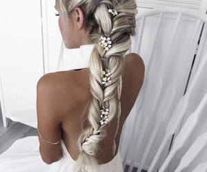 art, hair, and jewelry image