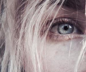 eyes, eye, and blonde image