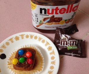 nutella and sweetness image