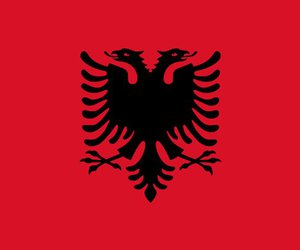 albania, albanian, and flag image