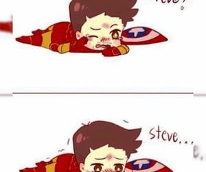 stony, tony stark, and civil war image