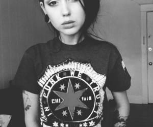 girl, tattoo, and punk image
