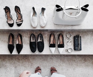 shoes and black and white image