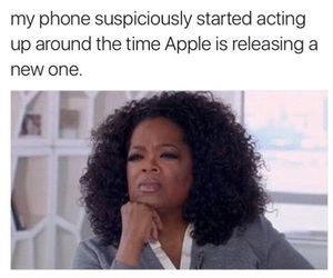 apple, electronics, and funny image