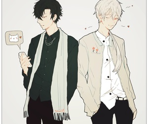 mystic messenger, zen, and anime image