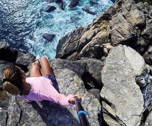 adidas, adventure, and cliffs image