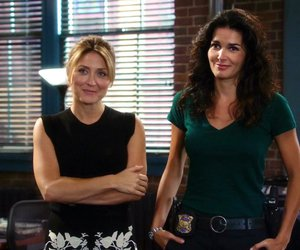 sasha alexander, angie harmon, and rizzoli and isles image