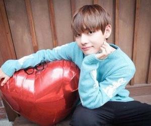 bts, love, and taehyung image
