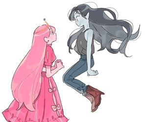 marceline, adventure time, and cute image