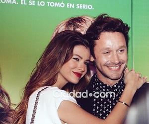 couple, hug, and benjamin vicuña image