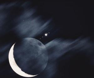 moon, jupiter, and galaxy image