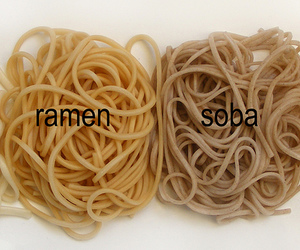 difference, ramen, and japanese image