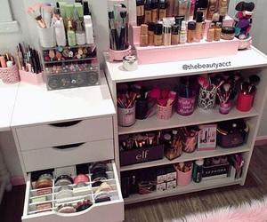 makeup, make up, and make-up image