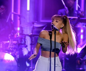 ariana grande, dangerous woman, and purple image