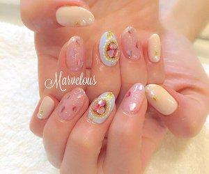 diamonds, glitter, and nail polish image