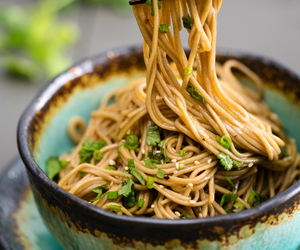 japanese, sesame, and noodles image