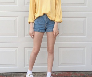 aesthetic, pale, and yellow image