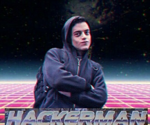 mr robot and hackerman image