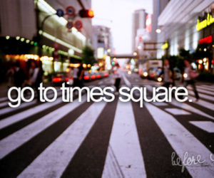 times square, before i die, and new york image