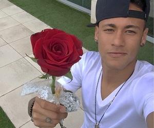 neymar, rose, and neymar jr image