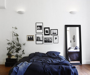 aesthetic, black, and bedroom inspo image