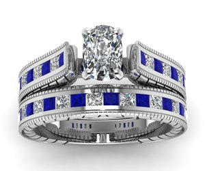 vintage rings, eternity bands, and art deco engagement rings image