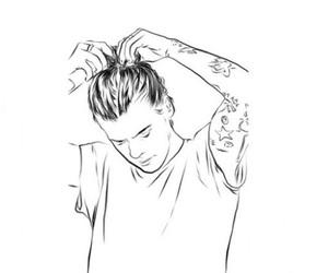 paint, Harry Styles, and sfondi image