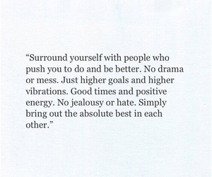 people, positivity, and quote image