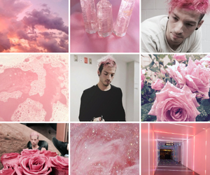 aesthetic, pink, and top image