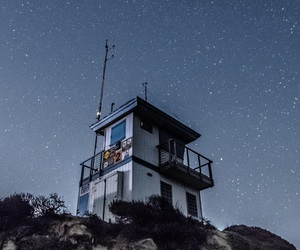 night, photography, and stars image