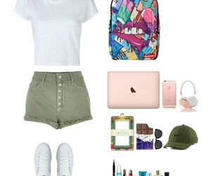 apple, bags, and Polyvore image
