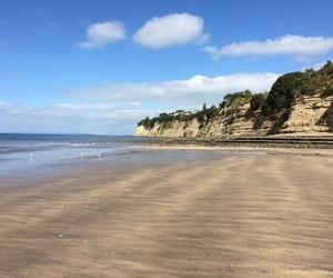 auckland, beach, and wannaswim image