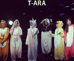 kpop, lovely, and t-ara image