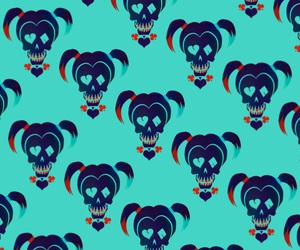 wallpaper, suicide squad, and harley quinn image