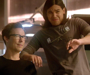 the flash, tom cavanagh, and carlos valdes image