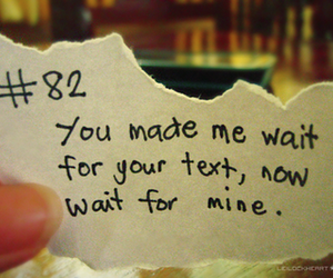 text and wait image