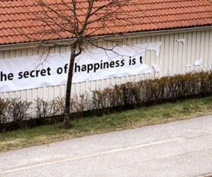 cute and secret to happiness image