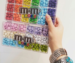 food, m&m, and m&m's image