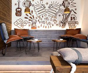 caffe, decor, and design image