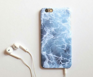 cover, iphone, and sea image