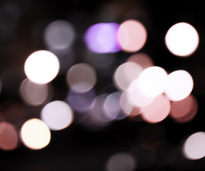 bokeh, light, and street image