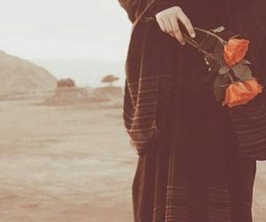 flower and abaya image