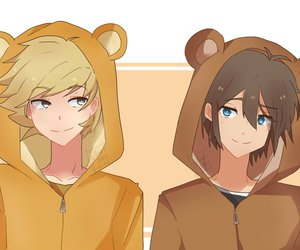 fnafhs and golden x freddy image