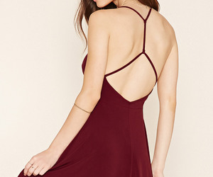 burgundy, fashion, and forever21 image